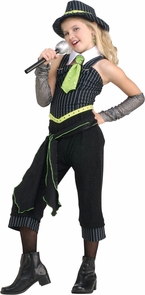 Gangster Moll Child Large Costume
