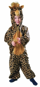 Giraffe Spotted Xs 1 To 2 Costume