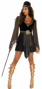 Glamazon Warrior Adult 2 Pc Sm Costume