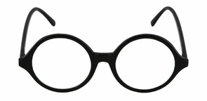 Glasses Professor Blk Clr Costume