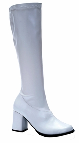 Go Go Boot White Size 10 Costume