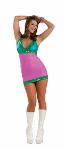 Women's Go Go Bright Costume