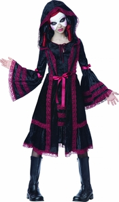 Gothic Doll Child Xl 12-14 Costume