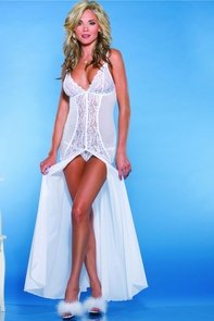 Gown Floor Length W/g-string Costume