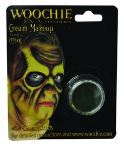 Green Mask Cover Carded Costume