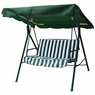 Green Outdoor Patio Swing Canopy Replacement 6.37 Foot