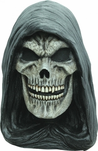 Grim Reaper Latex Mask Costume