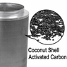 "Grow Room Coconut Activated Charcoal Carbon Filter 12""x 28"""