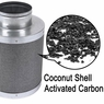 "Grow Room Coconut Activated Charcoal Carbon Filter 4""x 10"""