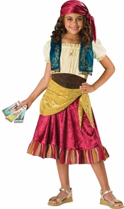 Gypsy 2b Child Sz 10 Costume