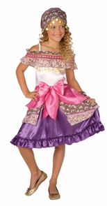 Gypsy Child Large 12-14 Costume