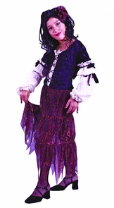 Gypsy Rose Child Small Costume