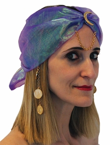 Gypsy Turban Charms Costume