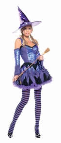 Gypsy Witch Small Medium Costume