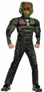 Halo Wars Jerome Muscle 14-16 Costume