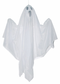 """18"""" Hanging Spooky Ghost Costume"""