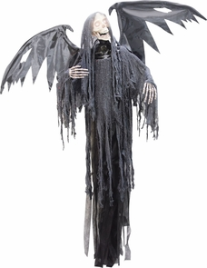 Hanging Reaper W Animated Wing Costume
