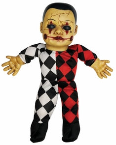 Haunted Doll Hellequin Costume