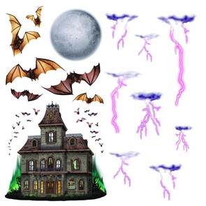 Haunted House Night Sky Props Costume