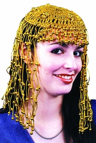 Headpiece Egyptian Gold Gold Costume