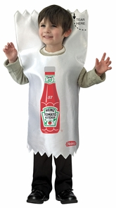 Heinz Ketchup Packet Costume