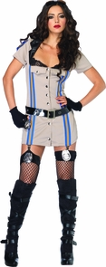 Highway Patrol Honey Large Costume