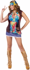Hippie Summer Of Love Ad 10-14 Costume