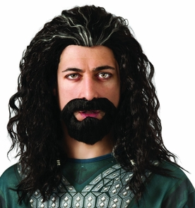 Hobbit Thorin Hair Kit Costume