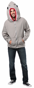Hoodie Shark Adult Large Costume