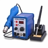 Hot Air & Iron SMD Rework Solder Station PLCC BGA Lead Free
