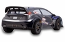 Huge RC (Remote Control) Rally Car W/Blacked Out Wheels