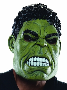 Hulk 3/4 Adult Mask Costume