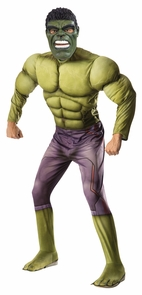 Hulk Adult Muscle Xl Costume