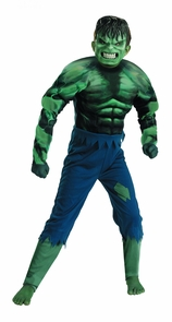 Hulk Child Muscle 7-8 Costume