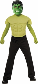 Hulk Child Top Costume