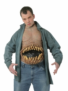 Hunger Pains Chest Piece Costume