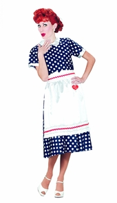 I Love Lucy Polka Dot Dress Md Costume
