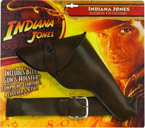 Indi Jones Gun W/belt/holster Costume