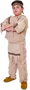 Indian Boy Large Costume