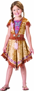 Girl's Indian Maiden 2B Costume