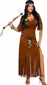 Indian Summer Adult 10-14 Costume
