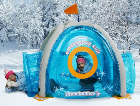 ef431b8af6a5 Inflatable Igloo Snow Fort Winter Toy