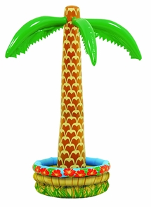 Inflatable Palm Tree Cooler Costume