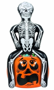 Inflatable Skeleton Cooler Costume