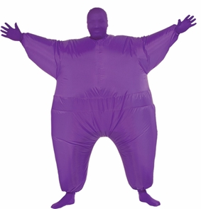 Inflatable Skin Suit Adult Pur Costume