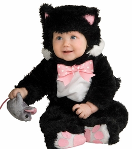 Inky Black Kitty 6-12 Mos. Costume