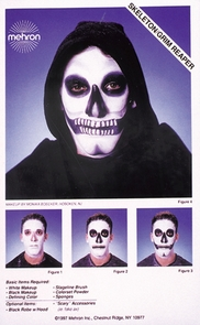 Instruction Sheets Skeleton Costume