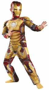Iron Man Mark 42 Avengers Chld Costume