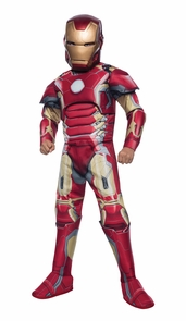 Iron Man Mark 43 Child Large Costume