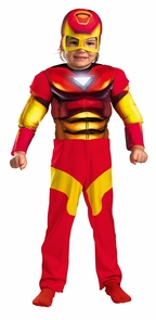 Iron Man Toddler Muscle 2t Costume